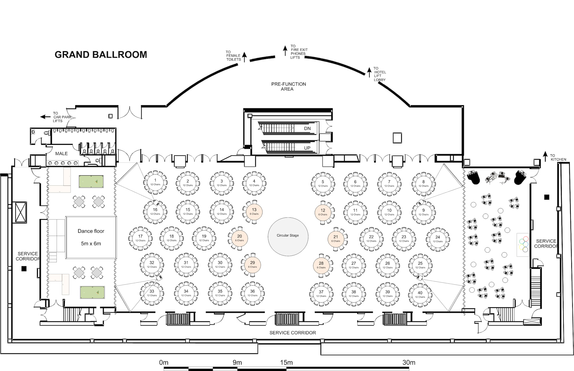 Event floor plan software diagramming and seating software for Plot plan drawing software