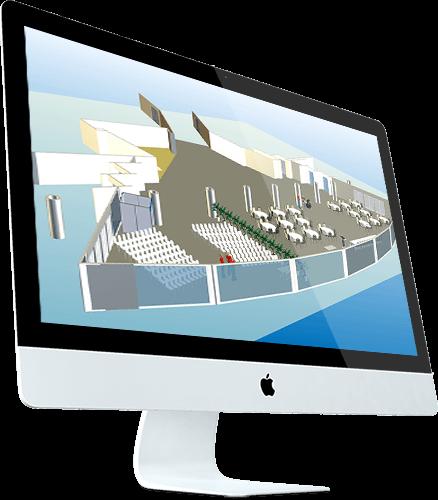 3D floor plan of Marriott Hotel